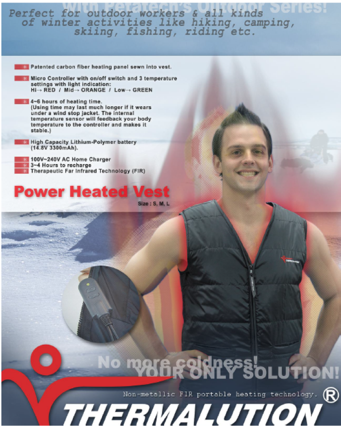 Thermalution Outdoor Power Heated Vest